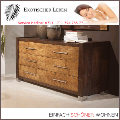 bambuskommode sideboard highboard schlafzimmer 6 schubladen asiatische m bel ebay. Black Bedroom Furniture Sets. Home Design Ideas