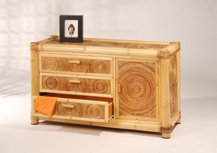 bambus kommode sideboard anrichte feng shui bambusbett. Black Bedroom Furniture Sets. Home Design Ideas