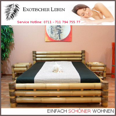 design bambusbett 200x220 wasserbett bettrahmen bettumrandung bambus ebay. Black Bedroom Furniture Sets. Home Design Ideas