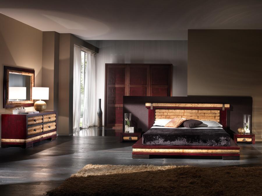 luxusbett 180x200 futonbett bambusbett designerbett holzbett doppelbett design ebay. Black Bedroom Furniture Sets. Home Design Ideas
