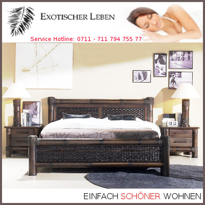 bambusbett 180x200 designbett dunkel holzbett. Black Bedroom Furniture Sets. Home Design Ideas